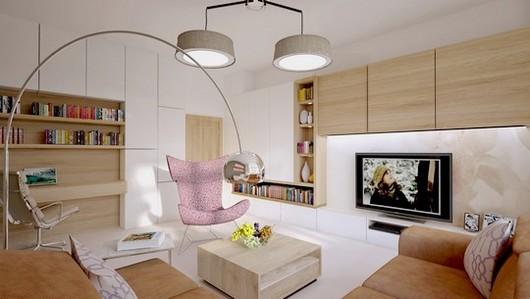 koberec v obyvacim pokoji