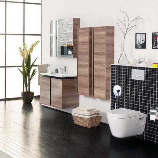 moderni koupelna s bidetem