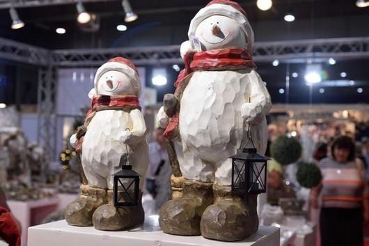 vanocni dekorace - snehulaci