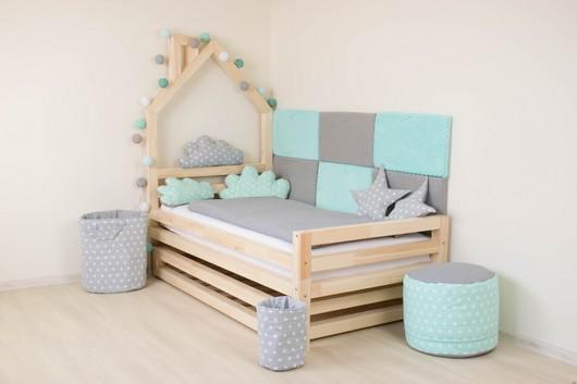 Detska postel domecek pro kluky