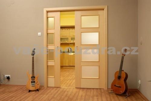 Posuvné dveře dvoukřídlé